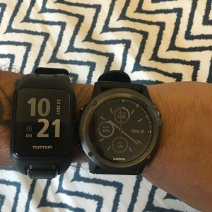 Garmin Fenix and Tomtom Spark